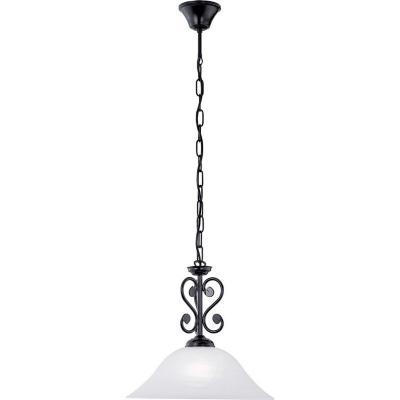 Lámpara de colgar Murcia 60W E27 negro