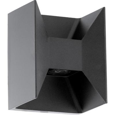 Apliqué exterior Morino 5W led negro