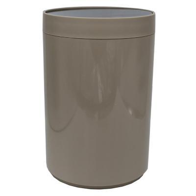 Papelero de Plástico 3 Lts Beige