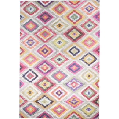 Alfombra kolor rhombus 120x170 cm multicolor