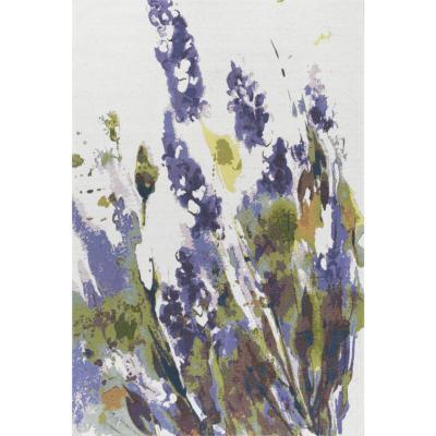 Alfombra kabul lavanda 120x180 cm morado/blanco