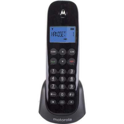 Teléfono inalámbrico digital negro m700