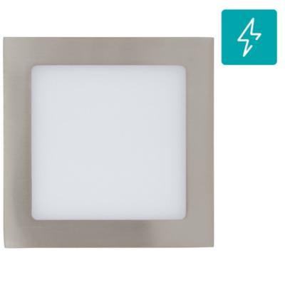 Panel embutido Fueva satín 11W led luz fría
