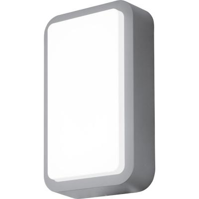 Apliqué exterior Trosona aluminio 12W led gris