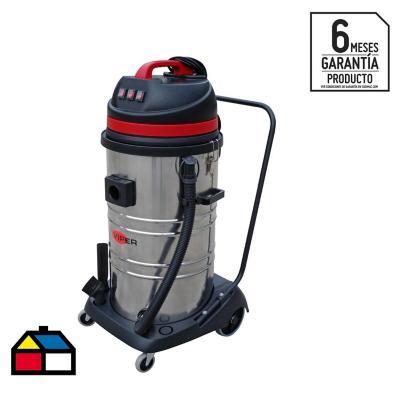 Aspiradora seco/húmedo eléctrica 3000 W 95 litros