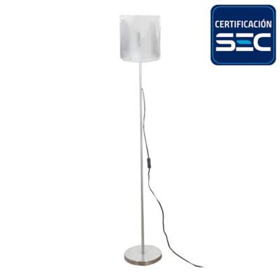 Lámpara pie 1 luz