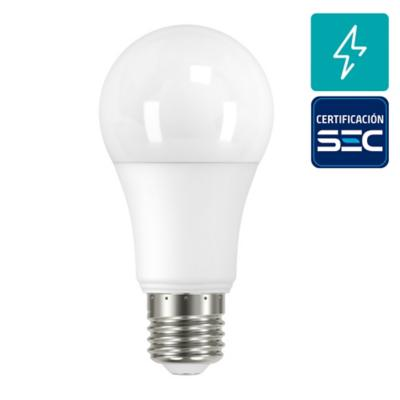 Pack 2 Ampolletas led A60 E27 7.5W luz fria