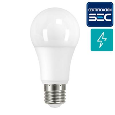 Pack 2 Ampolletas led A60 E27 13W luz fria