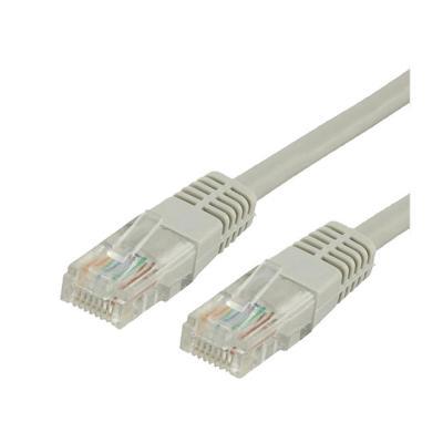Cable patch cord cat5e 5 mts gris