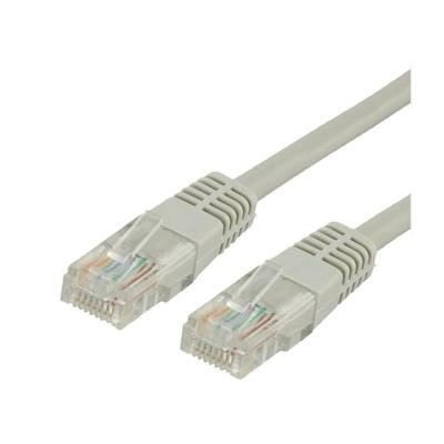Cable patch cord cat5e 3 mts gris