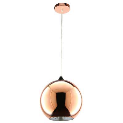 Lámpara de colgar Vidrio Beau Cobre