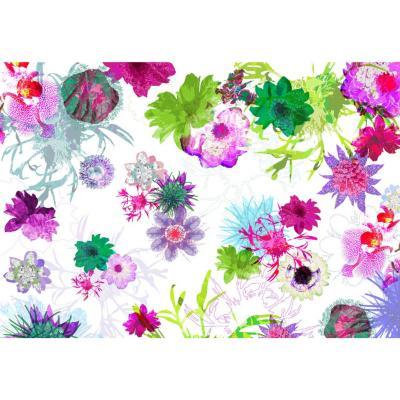 Fotomural flores 254x368 cm