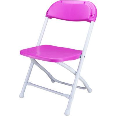 Silla plegable niños 33x33x56 cm rosado