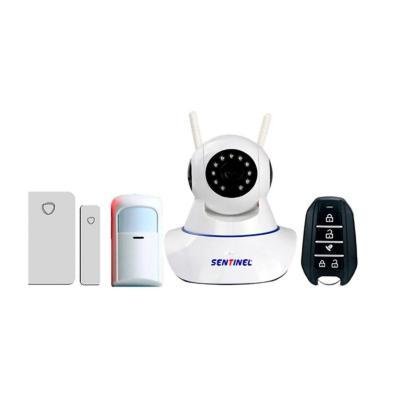 Alarma con Cámara y Sensores