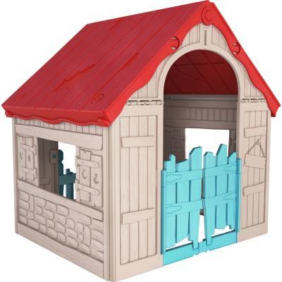 Casa de muñecas plegable