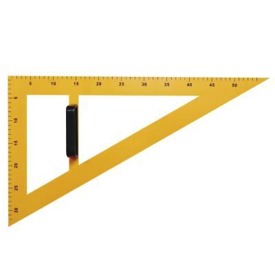 Escuadra plástica 60° para pizarra 60cm
