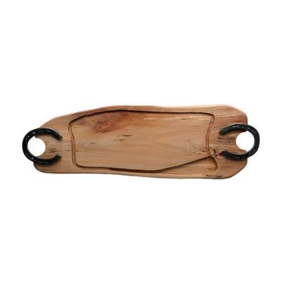 Tabla para asado madera nativa 20x60 cm
