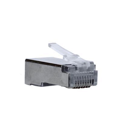 Paquete de conector rj45 cat5 macho ftp