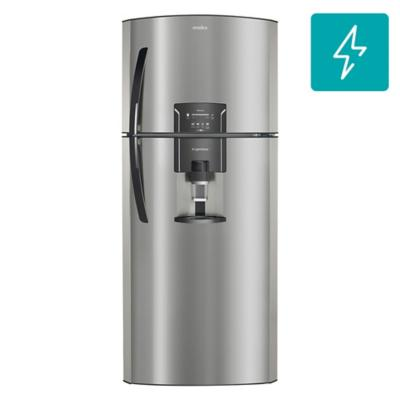 Refrigerador no frost top mount freezer 400 litros inox