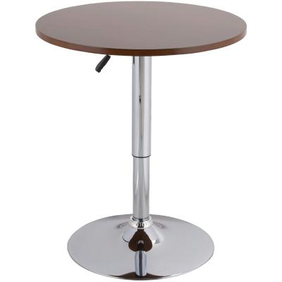 Mesa bar 60 cm cromada café