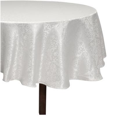 Mantel 180 cm blanco