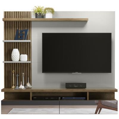 "Panel de TV 60 "" 181x35x163 Blanco/café"