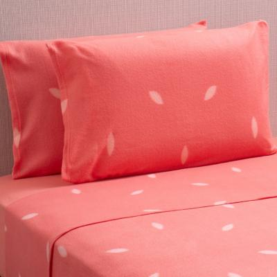 Sábana polar Estampada rosada 2 plazas