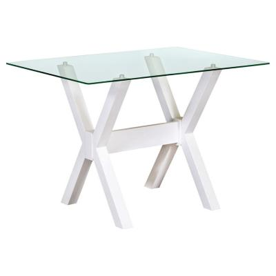 Mesa de comedor rectangular 115x85 cm