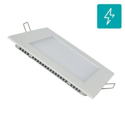 Panel LED embutido cuadrado 12W cálido