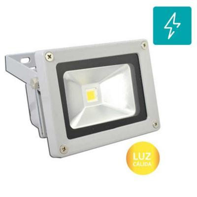 Foco exterior led smd 10w luz cálida