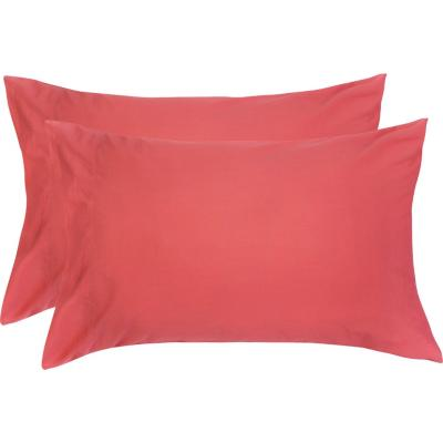 Set funda almohada coral 52x76 cm