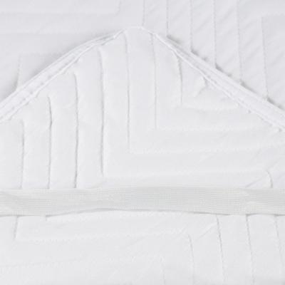 Cubrecolchón 1,5 plazas blanco