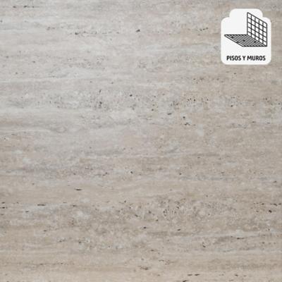 Porcelanato 60x60 cm travertino beige