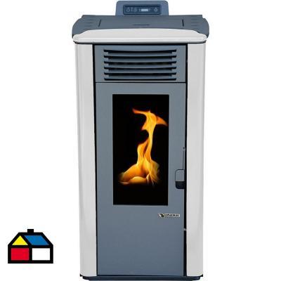 Calefactor a pellet blanca