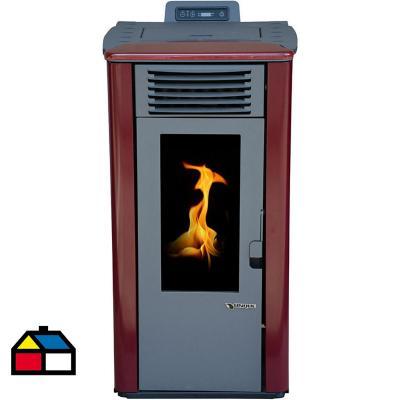 Calefactor a pellet burdeo