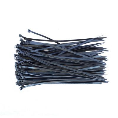 Paquete de amarras cables 30 cm x 3,6 mm Negro