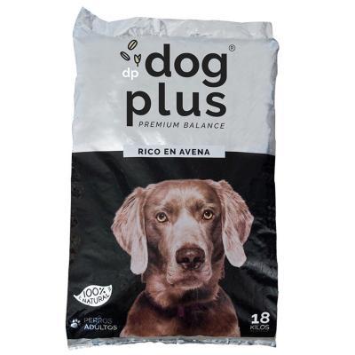 Alimento para perro adulto 18 kg rico en avena