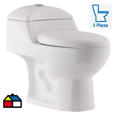 Wc one piece 6 litros blanco 8025-250