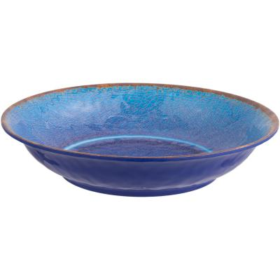 Fuente melamina azul oscuro