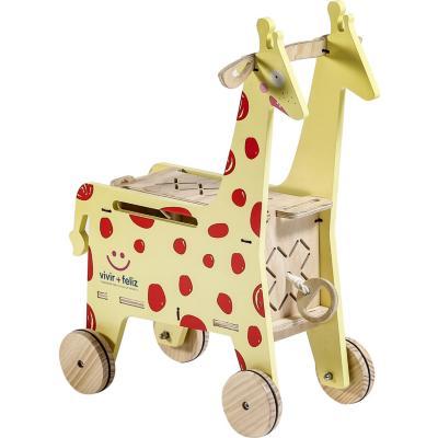 Carrito baúl jirafa