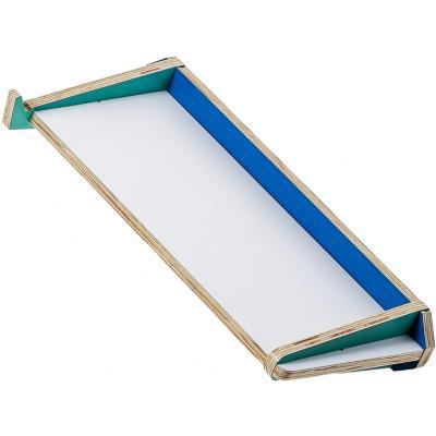 Repisa 55x8,5x24 cm verde/azul