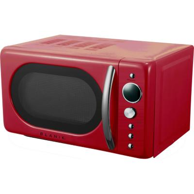 Horno microondas análogo 20 litros rojo