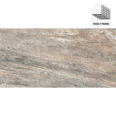 Porcelanato 30x60 cm 1,26 m2 gris