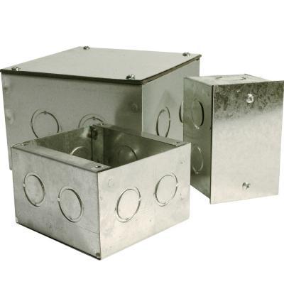 Caja metalica distribución 100x100x65 mm