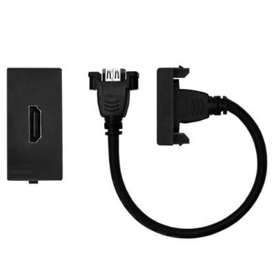 Conector hdmi cordón 25 cm s22 noir