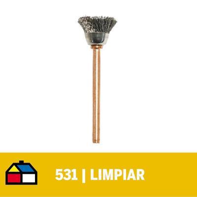 Cepillo acero inoxidable 12,7mm