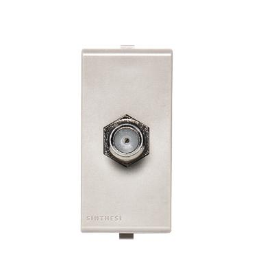 Toma coaxial tv-sat  s22 beige