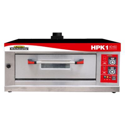 Horno industrial de piso a gas hpk-1 b40x60