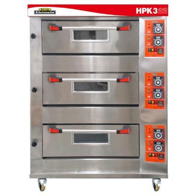 Horno industrial de piso a gas hpk-3 b40x60