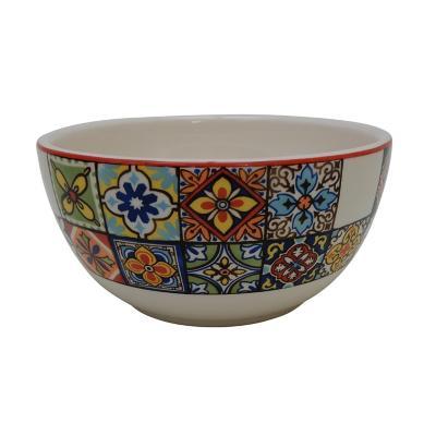 Bowl 15 cm mosaico rojo